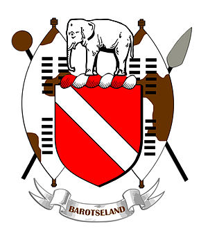 Barotseland - Image: Barotseland Coat Arms shaded