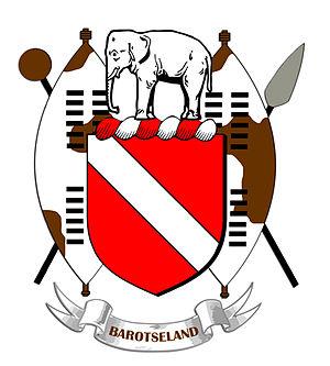 Barotseland - Image: Barotseland Coat Arms shaded