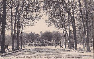 Fontaine de la Rotonde - Fontaine de la Rotonde in 1910.