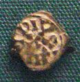 Base silver coin of Nemfidius patriarch of Provence 700 710 minted at Marseilles.jpg
