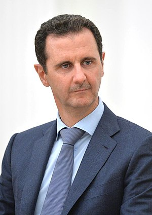 Bashar al-Assad - Assad in Moscow in 2015