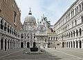 Basilica di San Marco dal cortile del Palazzo Ducale Venezia.jpg