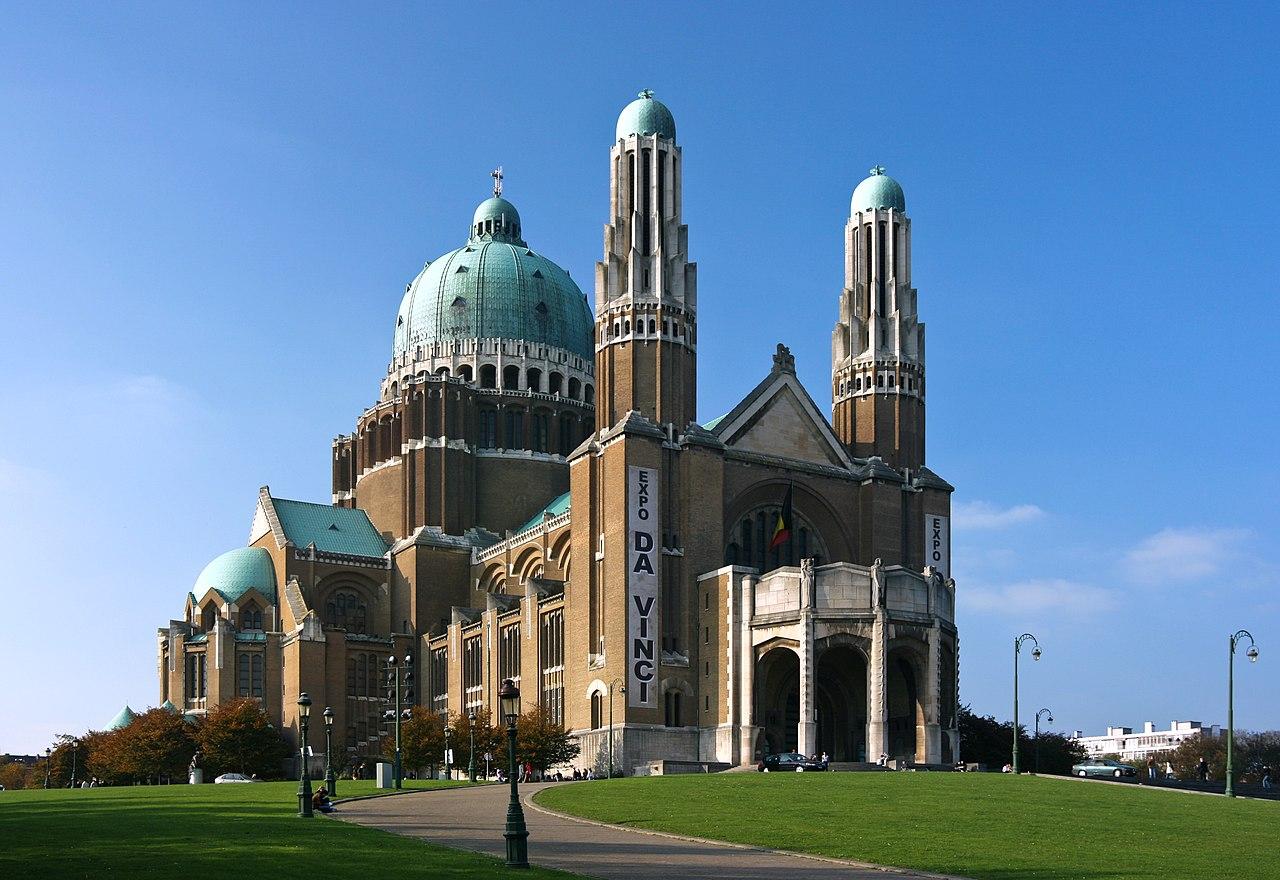 Basilika Nasional Hati Kudus di Koekelberg, Brussels