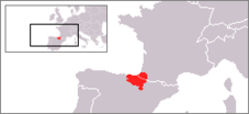 Basque Country in Spain and France