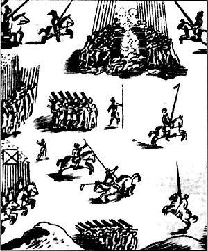 Battle of Jaquijahuana - Image: Batalla de Jaquijahuana