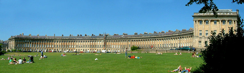 """Crescens Regalis"" (Royal Crescent)"