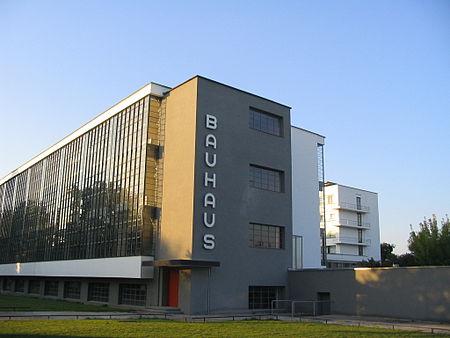 مباني من نتاج مدرسة باوهاوس