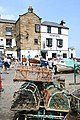 Bay Hotel with lobster pots - geograph.org.uk - 822456.jpg