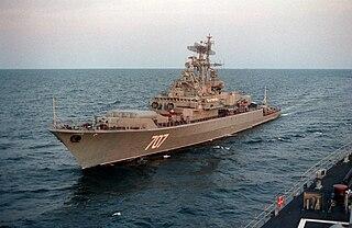 Soviet frigate <i>Bditelnyy</i> Krivak-class frigate