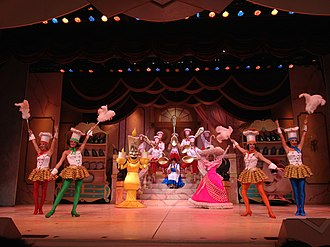 """Beauty and the Beast Live on Stage - """"Be Our Guest"""""""