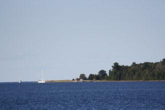 South Twin Island (Wisconsin) - Beach