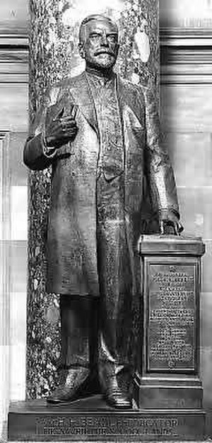 William Henry Harrison Beadle - William Henry Harrison Beadle statue at the National Statuary Hall Collection at the United States Capitol.