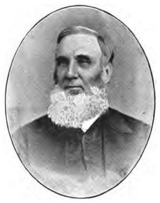Beaver Henry Blacker - The Rev. Beaver Henry Blacker by Cox of Clifton.
