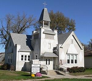 Beemer, Nebraska - Original site of the Congregational Church