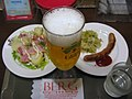 Beer and nibblies at BERG, Shinjuku.jpg