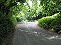Beginning of the hairpin on Hawkley Road - geograph.org.uk - 1323160.jpg