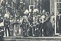 Begrüßung des Königs von Italien durch die Kaiserliche Familie auf der Terrasse vor dem Neuen Palais.jpg