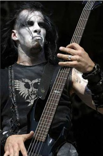 Corpse paint - Image: Behemoth Orion