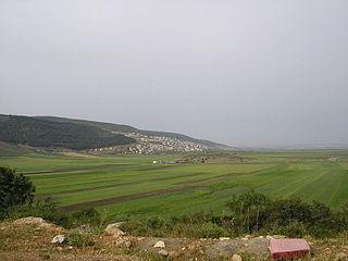Bueine Nujeidat Place in Israel