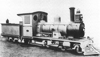 South African Class NG6 4-4-0 - Falcon F4