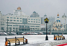 Государственный университет зимой