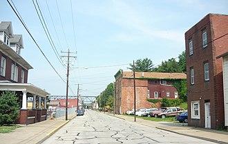 Belle Vernon, Pennsylvania - Main Street