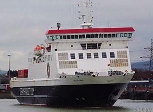 Heysham Port - Image: Ben my chree