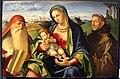 Benedetto diana, ma donna col bambino tra i ss. girolamo e francesco, ve.JPG