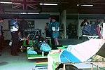 Benetton pits 1994 Silverstone.jpg