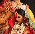 Bengali bride during sindoor daan IMG 7811 1.jpg