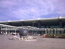 Kempegowdas internationella flygplats--Fil:Bengalure Airport outside