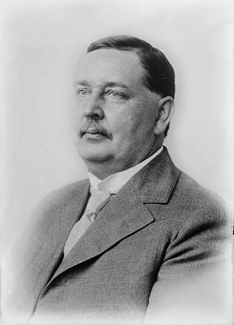 Benjamin G. Lamme - Benjamin Garver Lamme circa 1915 facing left
