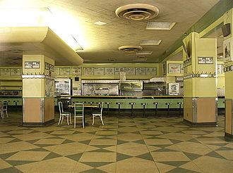 Bens De Luxe Delicatessen & Restaurant - Inside View.