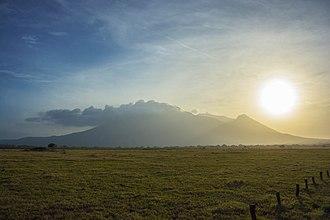 Situbondo Regency - Image: Bentang alam baluran