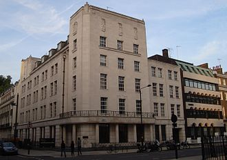 UCL Faculty of Laws - Bentham House, the main building of the UCL Faculty of Laws. The Gideon Schreier Wing can be seen to the right.