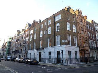 1 Bentinck Street - 1 Bentinck Street is on the corner with Welbeck Street