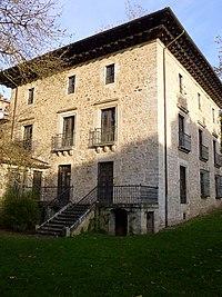 Bergara - Errotalde jauregia (edificio y entorno natural) 04.JPG