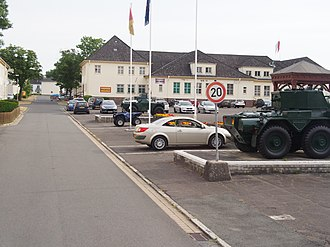 Bergen-Hohne Garrison - Headquarters, 7th Armoured Brigade at Campbell Barracks