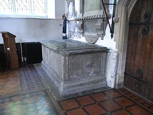 Thomas de Berkeley, 5th Baron Berkeley - Image: Berkeley Tomb Wootton