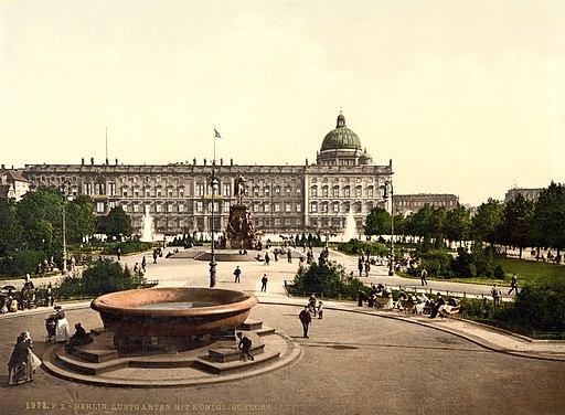 Berlin Stadtschloss um 1900 (aged colors)