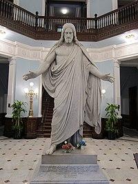 Bertel Thorvaldsen's Christus - under the Dome at Johns Hopkins Hospital - panoramio.jpg
