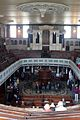 Bethesda, Stoke-on-Trent 13, Interior from Balcony showing pulpit and organ.jpg