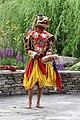 Bhutanese masked dancer, Paro 01.jpg