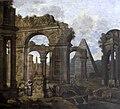 Biagio Rebecca (1735-1808) - Capriccio, Antique Ruins with a Pyramid - 1271508 - National Trust.jpg