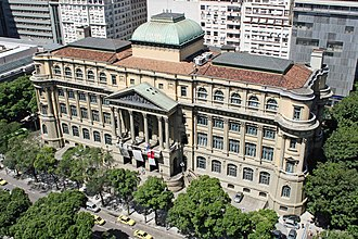 National library - The National Library of Brazil is the largest library in Latin America.