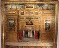 Biccherna 76, cristofano rustici (attr.), nozze di ferdinando I e cristina di lorena, 1589, 02.jpg