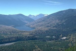 Bob Marshall Wilderness - Image: Big Salmon Lake