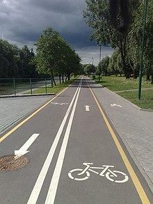 Как сделать велосипедная дорожка 841