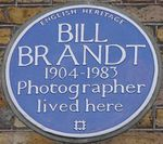 Bill Brandt 4 Airlie Gardens blue plaque.jpg