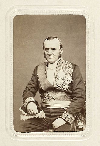 Adolphe Billault - Billault in his uniform as a minister